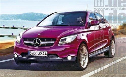 2013年正式发布 奔驰全新BLK效果图曝光 汽车之家