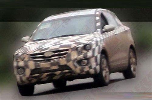 2013年上市 奔腾SUV重度伪装谍照曝光 汽车之家