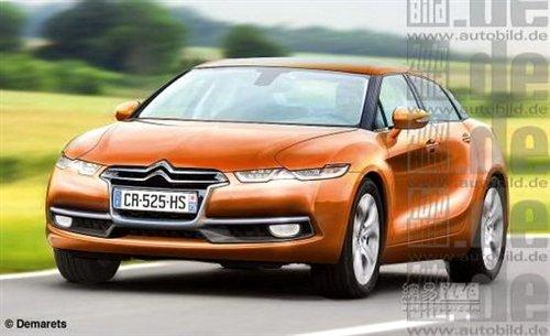 外形或大变 新雪铁龙C5有望2013年推出 汽车之家