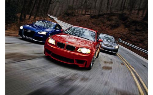 龙尾追击 三款高性能轿跑车跨级别对比