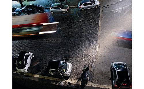 城市代步工具 意大利罗马试驾Smart