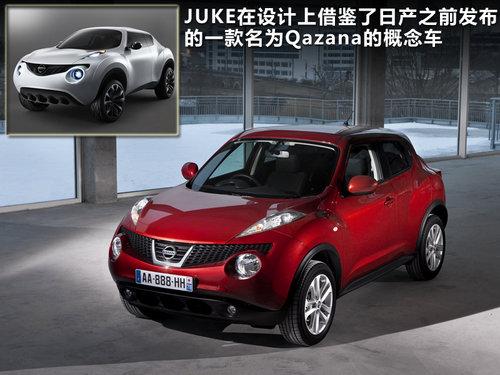 日产(进口)  日产Juke 1.6 MT