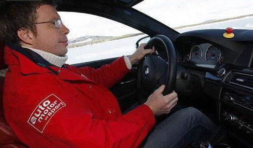 抢先登陆 海外冰雪试驾宝马全新一代M5