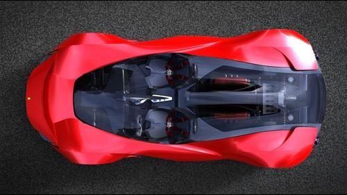 法拉利aliante双座概念跑车设计图曝光