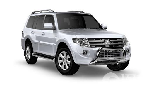 帕杰罗ACTiV的粗线条设计,以2012款最流行的帕杰罗GLX柴...