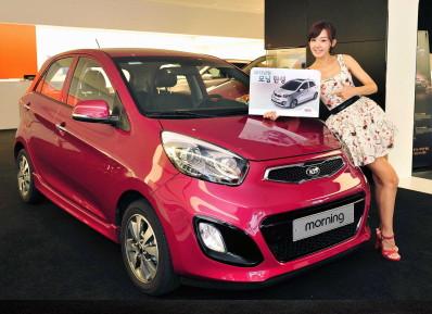 韩国 起亚汽车2013版Morning正式销售高清图片