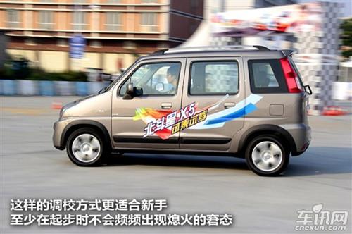 试驾铃木北斗星X5巡航版 换标又换 芯高清图片