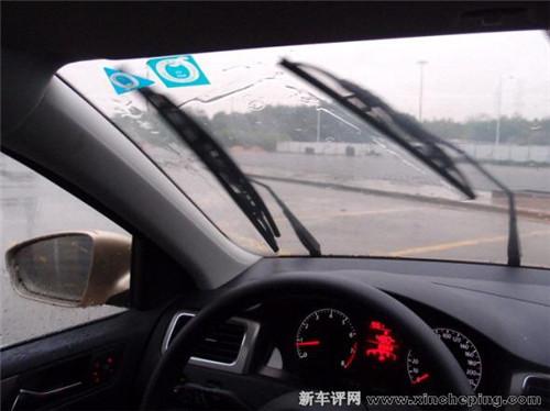 上海大众新桑塔纳(16)日记:不惧绵绵春雨