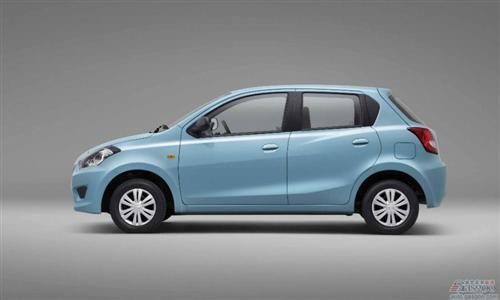 日产在印度展出达特桑品牌首款车型GO高清图片
