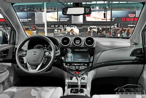 预计售15万起 比亚迪s7将于今年内上市高清图片