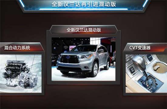 换代汉兰达明年推出 将搭载2.0t发动机