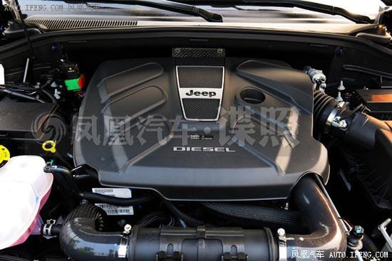 Jeep大切诺基柴油版谍照 有望4月上市高清图片