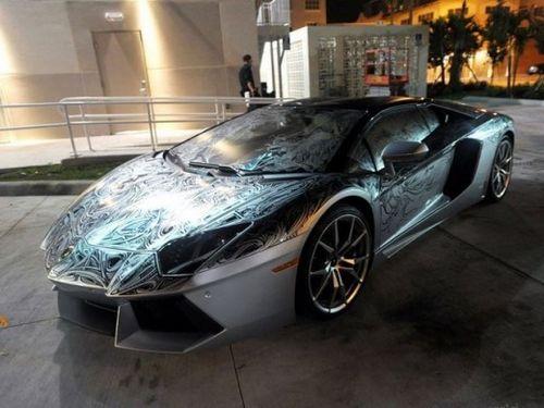兰博基尼aventador手绘版合487万元