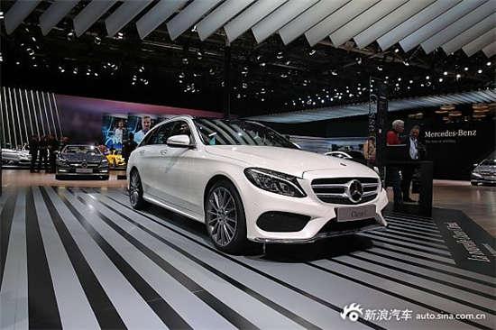 6月6日,在深港澳车展上奔驰全新c级旅行版正式上市,c200旅行轿车