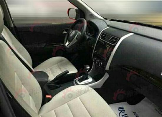 东风风行S500量产车型谍照曝光高清图片