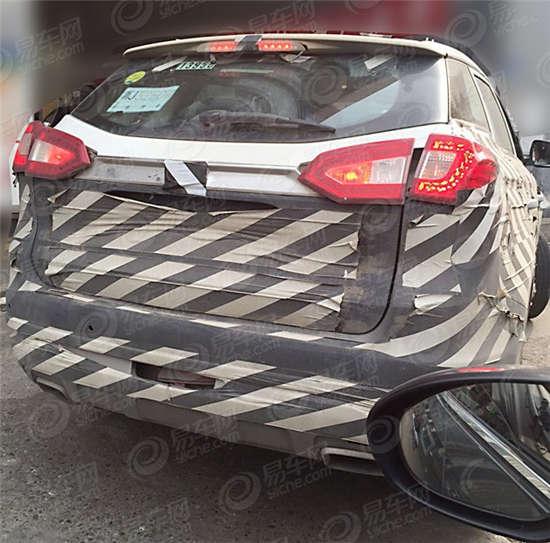 曝吉利新SUV最新谍照 或2015年下半年发布