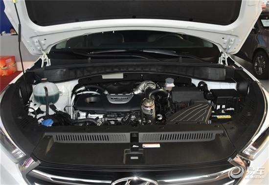 全新途胜1.6T涡轮增压发动机-全新途胜配置抢先看 新增1.6T 7DCT车型高清图片
