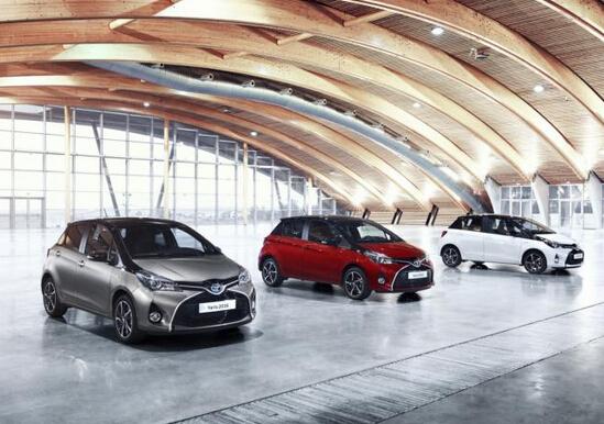 2016款豐田雅力士新增車款將亮相法蘭克福高清圖片