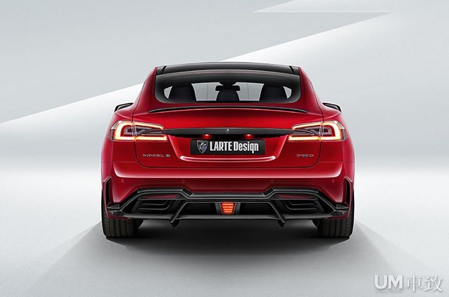 更为凶猛 特斯拉model s larte enigma车身套件