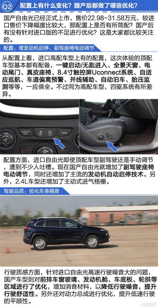 场地体验国产Jeep自由光2.4L高清图片