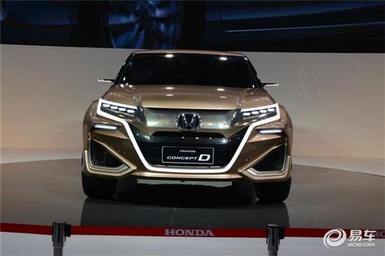 广汽本田新SUV年底上市 缺席7座 两种动力高清图片