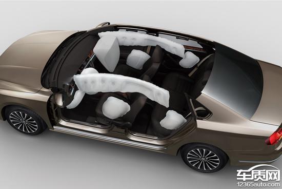 2016款上汽大众帕萨特            新帕萨特全车配备了9个安全气囊