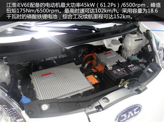 50km 实拍江淮纯电动车iEV6E高清图片