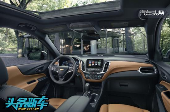 雪佛兰紧凑级SUV Equinox2017年初上市高清图片