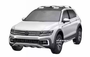 大众将推小型SUV 一汽大众2019年国产高清图片