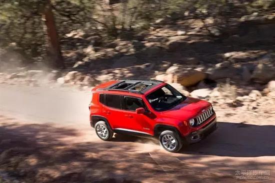 jeep自由侠定位小型suv