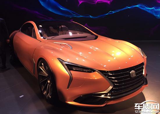 全新概念车亮相 长安汽车揭示未来设计理念