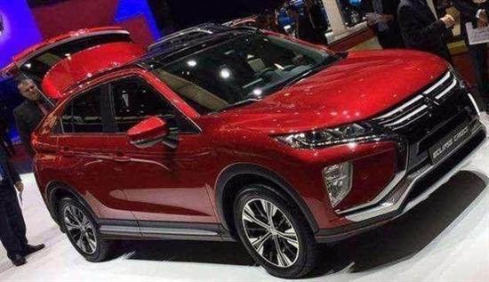 三菱新款SUV颜值超高配置丰富 售价11万高清图片