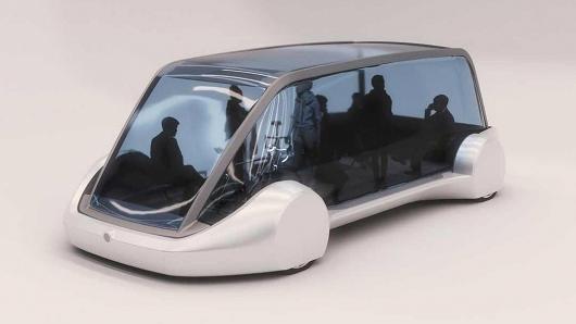 无聊公司不无聊 马斯克发布新电动概念车