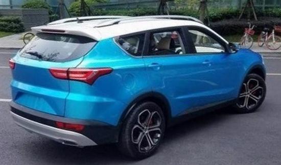 命名X70 开瑞全新7座SUV无伪谍照曝光高清图片