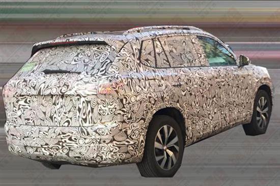 大众全新SUV再次曝光 2018年12月上市