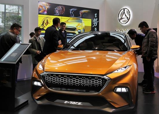 定位小型SUV 合众首款车将于三季度亮相