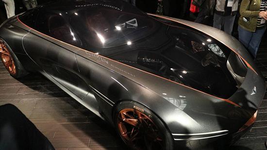 现代捷恩斯概念车亮相 0-96km/h加速仅需3s