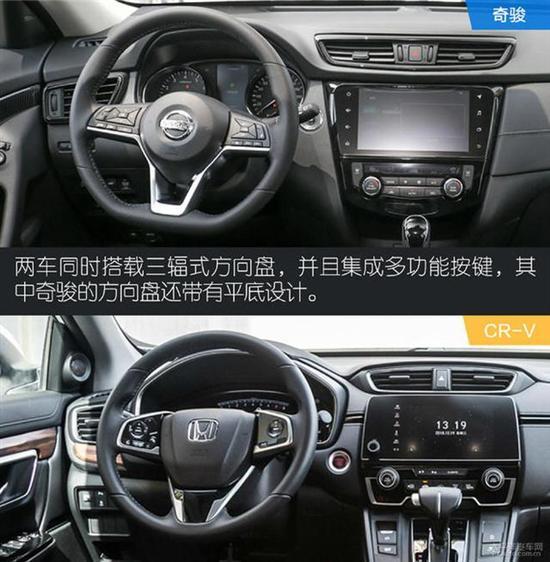 奇骏仪表盘样式较为简单,但方便驾驶员读数.