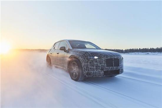 宝马iNEXT原型车在瑞典验证底盘和悬架的表现