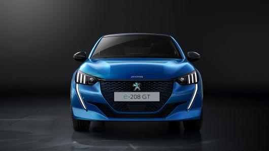 标致推零排放纯电动车e-208 今夏发布