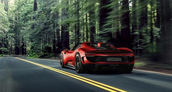 保时捷或推911电动版 将代替现款918 Spyder