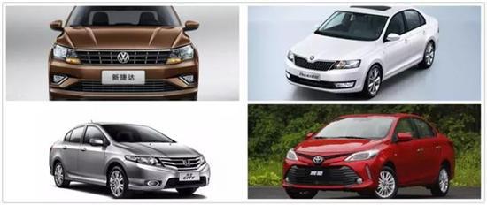 推荐几款合资家用小车 售价十万以内