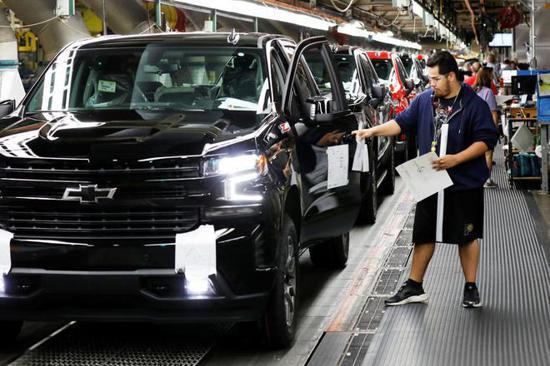 通用汽车在中美两大市场面临销量下滑