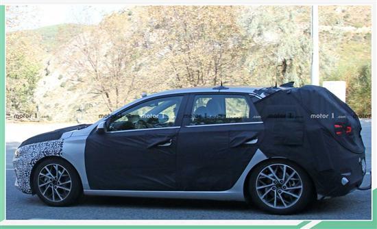 曝现代新款i30五门掀背版 将于法兰克福亮相