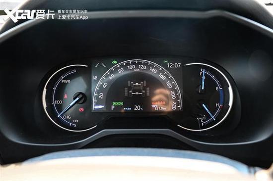 试驾全新RAV4荣放双擎 1000km超长待机