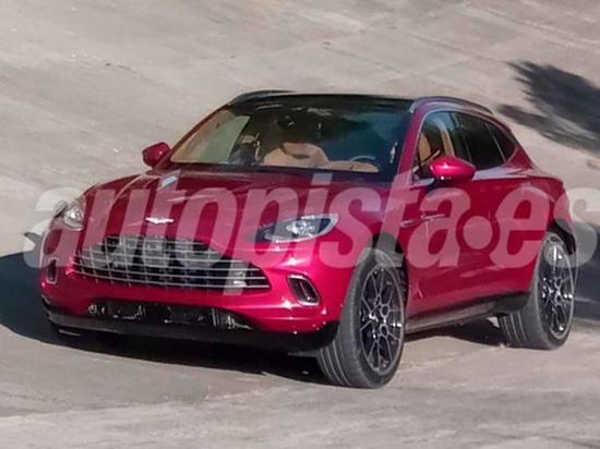 阿斯頓·馬丁首款SUV曝光 將搭奔馳4.0T