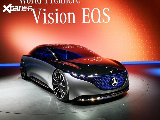 奔馳VISION EQS概念車將亮相廣州車展