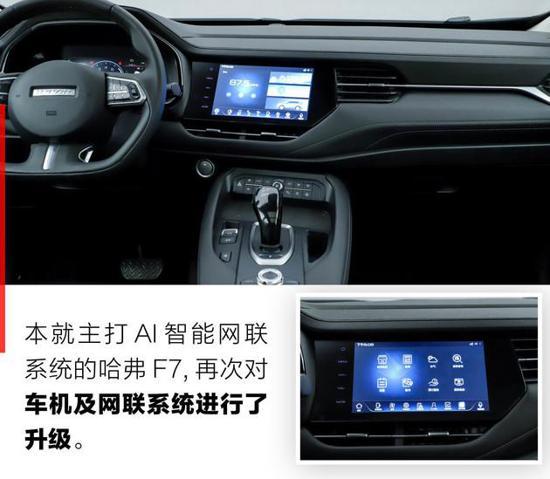 推荐1.5T i酷版 哈弗F7车型购车手册
