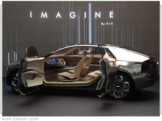 起亚Imagine概念车 量产了得什么样?