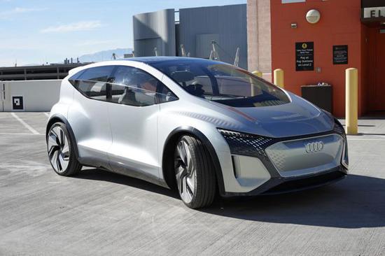 未来汽车是这样的 2020 CES展首试奥迪AI:ME